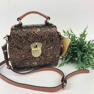Patricia Nash BRIONNE COIN TOOLED CROSSBODY Bag